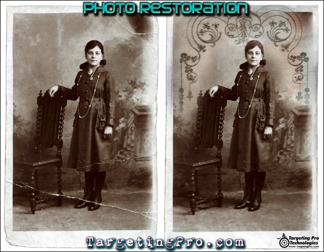 Photo Repair Restoration Fix Photography Vintage