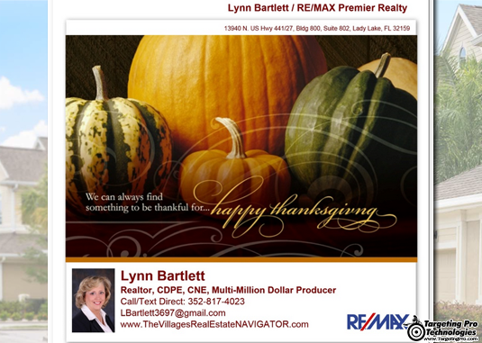 Real Estate Holiday Email Marketing Campaign