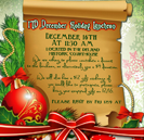 Holiday Christmas Restaurant Event Marketing Campaign