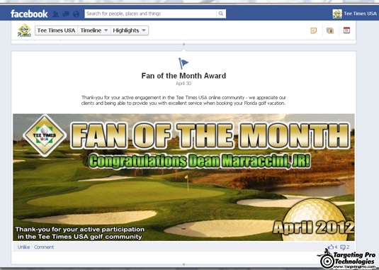 Travel Lodging Hotel BNB Golf Social Event Marketing Campaign
