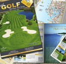 Lodging Travel Golf Tee Times Professional Graphic Designer