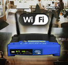 Telecommunications Tech Contractor IT Support Wifi Linksys Professional