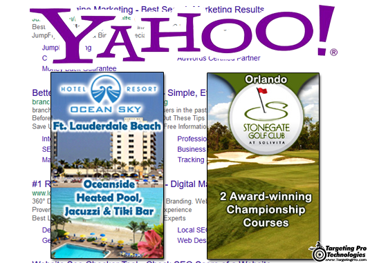 Search Engine Marketing SEM Travel Lodging Golf Services