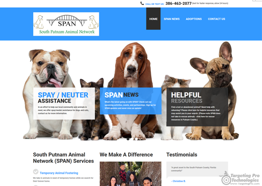 Charity Non-Profit Web Design Services